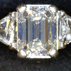 1.47 ct. Emerald Cut 3 Stone Ring #3