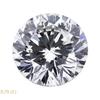 0.70 ct. Round Cut 3 Stone Ring #1