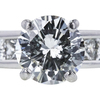 1.54 ct. Round Cut Solitaire Ring, I, I1 #4