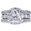 1.54 ct. Triangular Modified Cut Bridal Set Ring, D-E, SI1-SI2 #1
