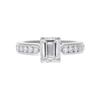 1.2 ct. Emerald Cut Solitaire Ring, H, VVS2 #3