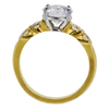 1.76 ct. Round Cut Bridal Set Ring, D, VVS2 #2