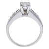 1.11 ct. Princess Cut Bridal Set Ring, I, SI2 #4
