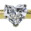 1.00 ct. Heart Cut Bridal Set Ring, J, SI1 #1