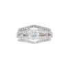 0.79 ct. Cushion Modified Cut Bridal Set Ring, G, SI1 #3