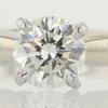 0.93 ct. Round Cut Bridal Set Ring #1