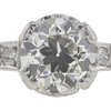 0.99 ct. Circular Brilliant Cut Solitaire Ring, H, SI1 #4