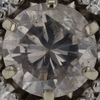 2.85 ct. Round Cut Central Cluster Ring #1