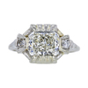 1.52 ct. Radiant Cut Solitaire Ring, J, SI2 #3