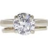 1.93 ct. Round Cut Bridal Set Ring, H, I1 #3