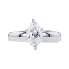 1.31 ct. Marquise Cut Solitaire Ring #3