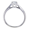 0.57 ct. Round Cut Bridal Set Harry Winston Ring, F, VVS2 #2