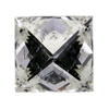2.44 ct. Princess Cut Solitaire Ring #4