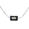 1.21 ct. Princess Cut Pendant Necklace #2