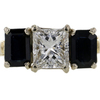 1.06 ct. Princess Cut 3 Stone Ring #3