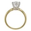 0.96 ct. Round Cut Bridal Set Ring, F, SI2 #4
