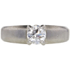 0.72 ct. Round Cut Solitaire Ring, G, VS1 #3