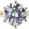 1.69 ct. Round Cut Solitaire Ring, H, VVS2 #4
