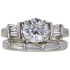 1.5 ct. Round Cut Right Hand Ring, E, SI1 #3