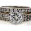 1.03 ct. Round Cut Bridal Set Ring #1