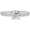 1.12 ct. Round Cut Solitaire Ring, G-H, I1 #2