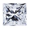 0.95 ct. Princess Cut Solitaire Ring, E, VS1 #3