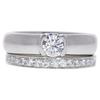 0.4 ct. Round Cut Bridal Set Tiffany & Co. Ring, F, VS1 #1
