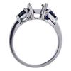 1.59 ct. Emerald Cut Bridal Set Ring, G, VS1 #4