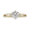0.7 ct. Round Cut Solitaire Ring, I, VS1 #3