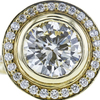 2.26 ct. Round Cut Halo Ring, L, SI1 #4