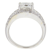 1.7 ct. Princess Cut Central Cluster Ring, I, VS1 #4