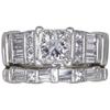 1.27 ct. Princess Cut Bridal Set Ring, H, SI1 #3