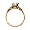 1.01 ct. Round Cut 3 Stone Ring #4