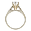 0.81 ct. Round Cut Solitaire Ring, G, VS1 #4