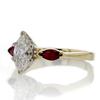 1.01 ct. Marquise Cut Solitaire Ring #2