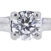 1.23 ct. Round Cut Bridal Set Ring, E, VVS2 #1