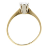 0.82 ct. Pear Cut Solitaire Ring, H, SI2 #4