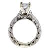 0.98 ct. Princess Cut Bridal Set Ring, G-H, SI2-I1 #3