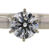 1.00 ct. Round Cut 3 Stone Ring #4