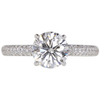 1.39 ct. Round Cut Solitaire Ring, G, I1 #3