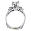 2.04 ct. Round Cut Solitaire Ring, H-I, I1 #1