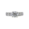 1.52 ct. Round Cut Bridal Set Ring, M, I2 #3