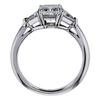 1.01 ct. Radiant Cut 3 Stone Tiffany & Co. Ring, I, VS1 #2