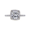 1.50 ct. Cushion Cut Halo Ring, I, SI1 #4