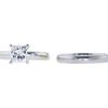 1.54 ct. Princess Cut Bridal Set Ring, I, SI2 #3