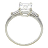 1.83 ct. Emerald Cut Bridal Set Ring, H-I, VS1 #4