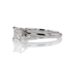 .83 ct. Square Emerald Cut Solitaire Ring #2