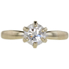 0.92 ct. Round Cut Solitaire Ring, K, VS2 #3