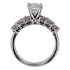1.07 ct. Round Cut Bridal Set Ring, I, VS2 #4