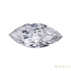 3.00 ct. Marquise Cut Central Cluster Ring, G, VS1 #1